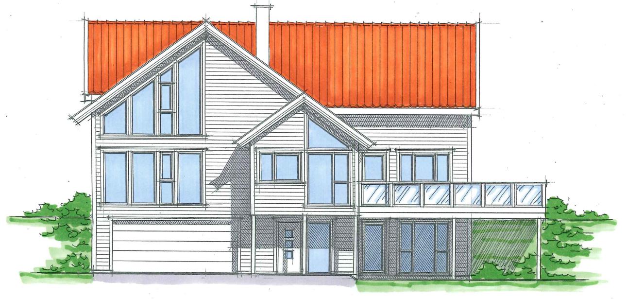 tegninger av hus