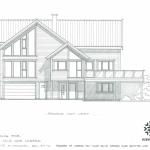 Endelig fasade på huset vår i Rossavik