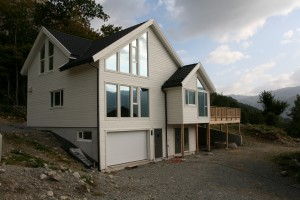 Huset vårt:-)