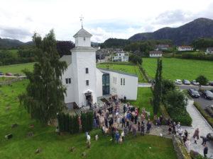 Bryllup i Forsand Kyrkje